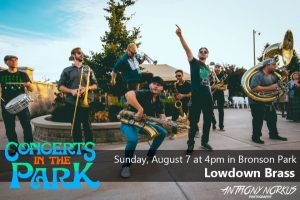 Concerts in the Park - Low Down Brass Band