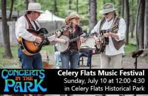 Concerts in the Park - Celery Flats Music Festival