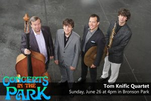 Concerts in the Park - Tom Knific Quartet