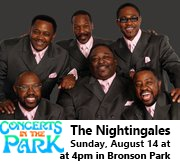 Concerts in the Park - The Nightingales