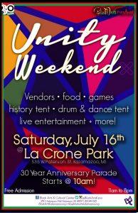 Black Arts Festival: Unity Weekend-Gospel in the Park