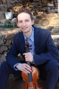 Stulberg Bronze Medalist Austin Haley Berman and the Kalamazoo Junior Symphony Orchestra