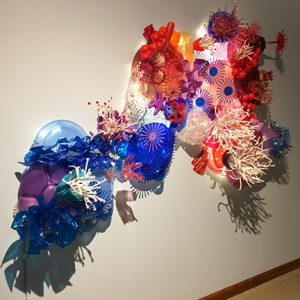 Kalamazoo Institute of Arts: Luminescence: From Salvage to Seascape, Sculpture by Sayaka Ganz