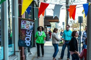 Community Services Charity: May Art Hop