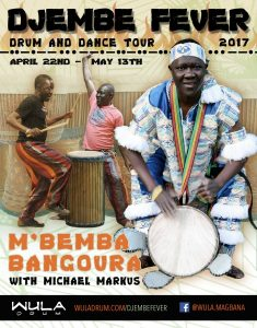Djembe Fever Tour: Drum and Dance