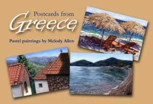 Postcards from Greece: Pastel paintings by Melody ...