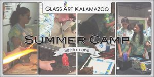 Summer Camp - Hot Glass for Cool Kids! (Session One)