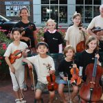 Art on the Mall Entertainment Stage - The Crescendo Academy of Music Fiddlers