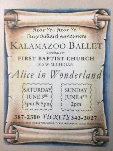 Alice in Wonderland: Kalamazoo Ballet Bullard School