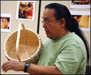 Thursday Evening at the KIA: Many Generations of Black Ash Basket Weaving
