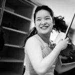 Stulberg Silver Medalist Qing Yu Chen with WMU Symphony Orchestra