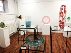 Glass Art Gallery Exhibit by Mert Ungor