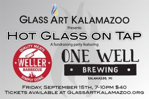 Hot Glass on Tap, featuring One Well Brewing and Weller Barbecue