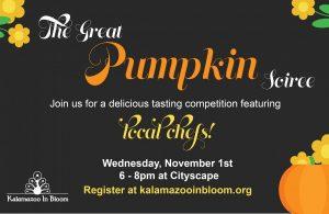 Kalamazoo In Bloom: The Great Pumpkin Soiree