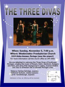 The Three Divas in Concert