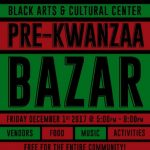 Pre-Kwanzaa Bazar