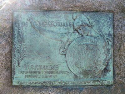 U.S.S. Maine Memorial Tablet