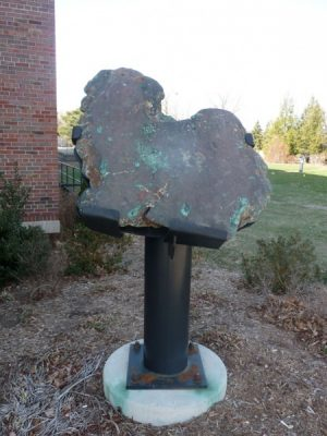 The Michigan Copper Erratic