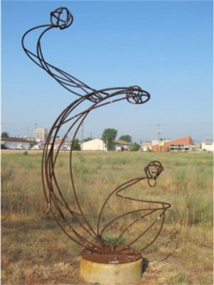 Wrought Iron Sculptures