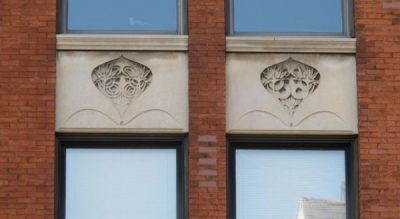 Desenberg Building Reliefs