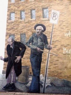 Barrister Building Mural